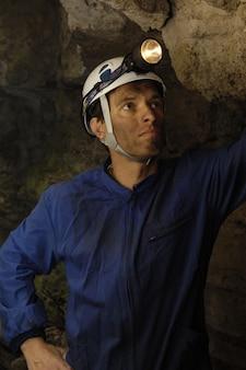Mineur dans une mine