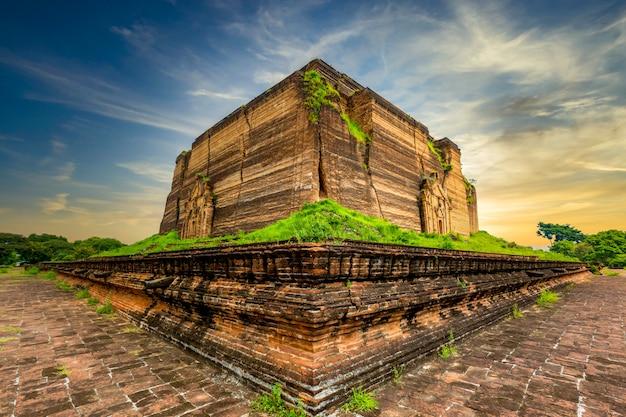 Le mingun pahtodawgyi est un monument incomplet