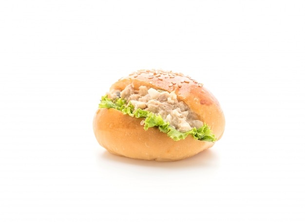 Mini-hamburger au thon