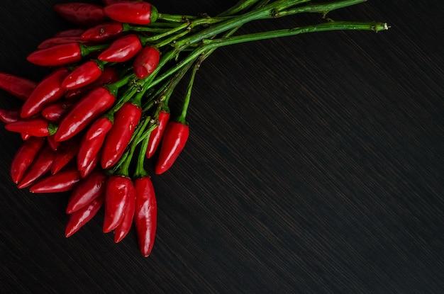 Mini piments rouges chauds