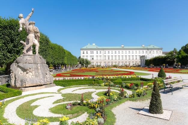 Mirabell gardens salzburg, autriche