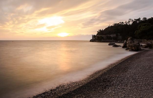 Miramare beach à trieste
