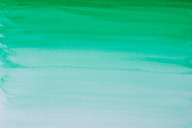Mise à plat de l'aquarelle sur papier