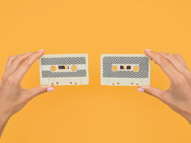 Mise à plat de la cassette avec espace copie