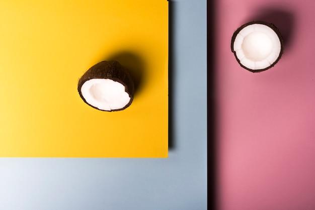 Mise à plat du concept de noix de coco