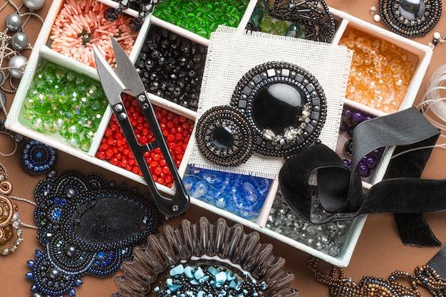 Mise à plat des éléments essentiels du travail des perles
