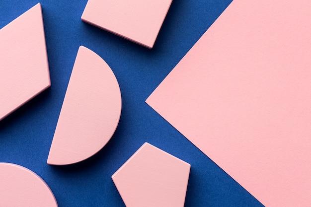 Mise à plat de formes géométriques