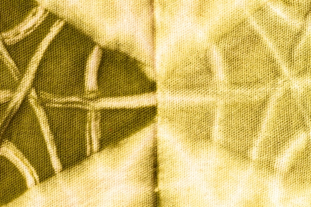 Mise à plat de tissu tie-dye coloré