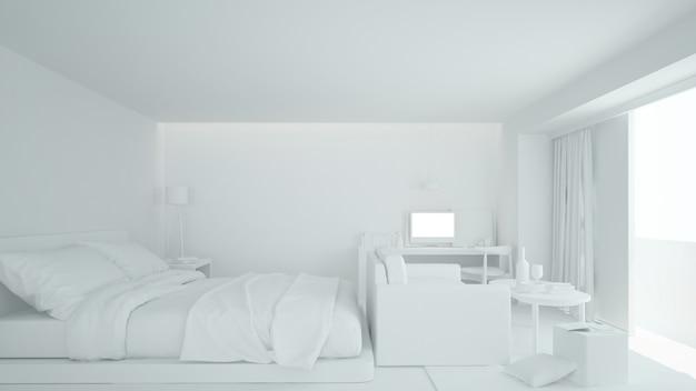 Le mobilier intérieur de la chambre