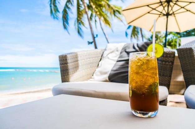 Mocktail sur la plage