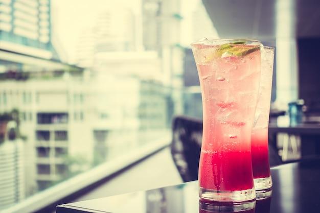 Mocktails iced