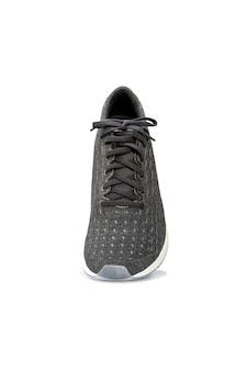 Mode chaussures de basket en cours d'exécution isolés sur blanc.