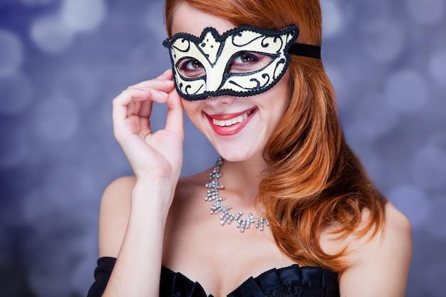 Mode femme avec masque.