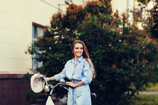 Mode fille à vélo