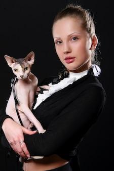 Mode et jeune femme moderne