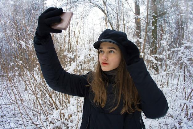 Mode Jolie Jeune Adolescente Photo Premium