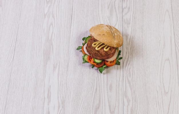 Mode de vie santé délicieux foodie