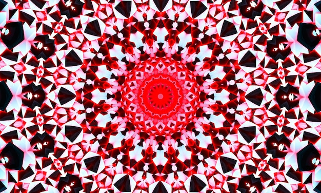 Modèle abstrait créatif de kaléidoscope sans couture avec des triangles de coup de pinceau. fond coloré pour l'impression de brochure, affiche, carte, impression, textile, magazines, vêtements de sport. design moderne et tendance.