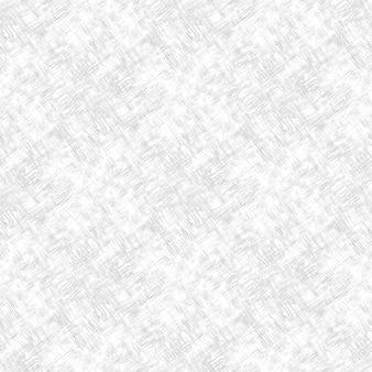 Modèle abstrait sans couture avec des lignes chaotiques abstraites gris clair sur fond blanc