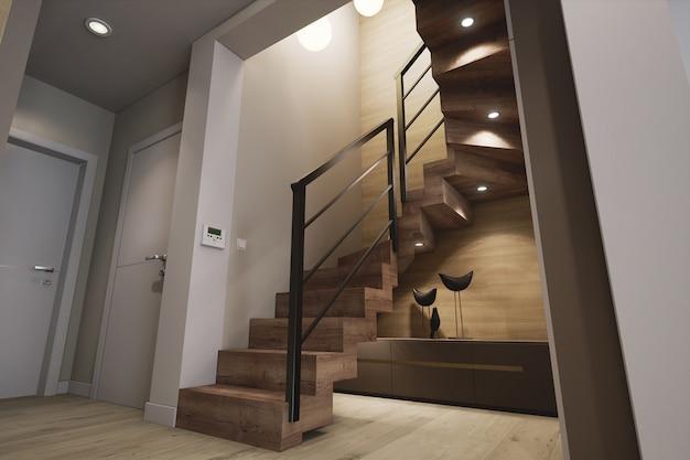 Modèle d'architecture 3d