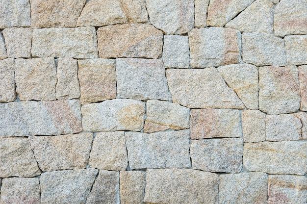 Modèle de brique de surface agrandi au vieux fond de texture de mur de brique en pierre