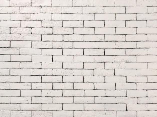 Modèle de brique de surface agrandi au vieux mur de brique de pierre de couleur crème