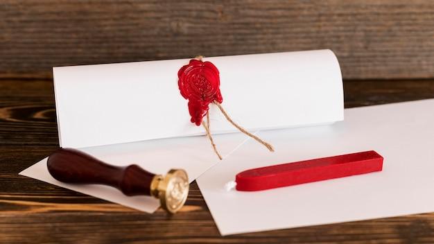 Modèle de certificat de diplôme d'études