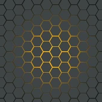 Modèle de conception de polygone abstrait pour le fond