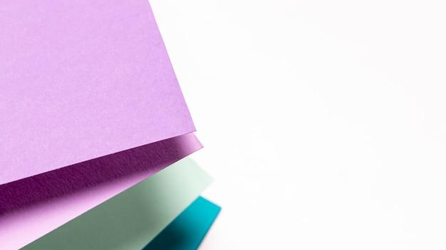 Modèle de couleurs froides avec espace de copie