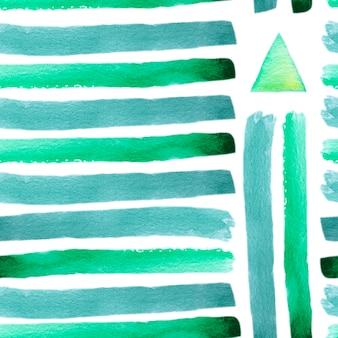 Modèle dessiné à la main aquarelle