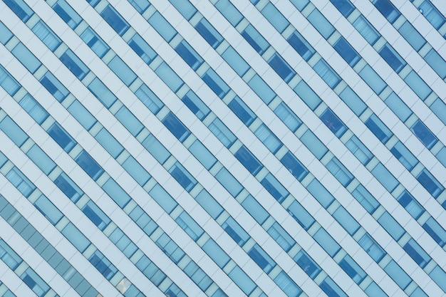 Modèle de fenêtre en verre au bâtiment moderne