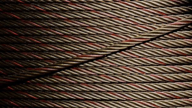 Modèle de fil de câble d'acier