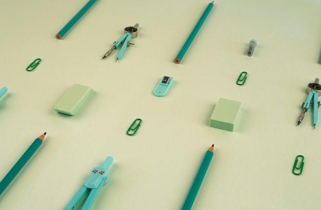 Modèle de fournitures scolaires pour la rentrée scolaire