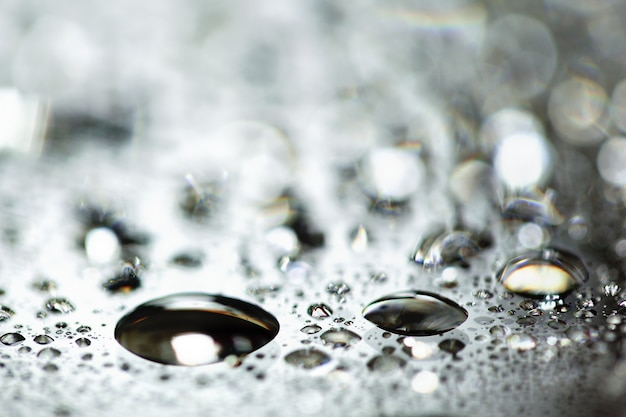 Modèle de gouttes d'eau