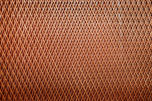 Modèle de luxe de fond de décoration net en cuivre