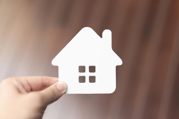 Modèle de maison en assurance habitation