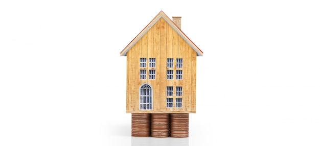 Modèle de maison et pièces
