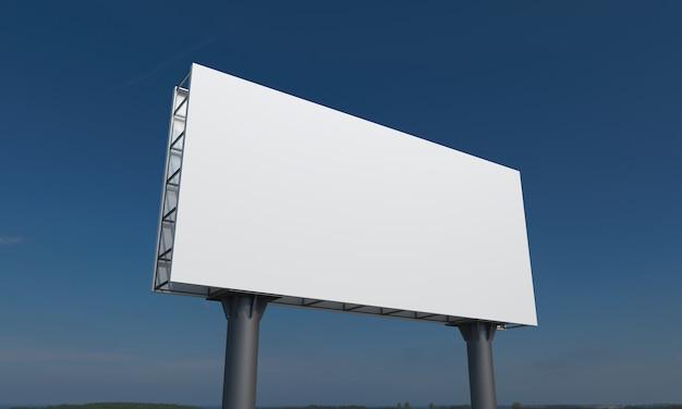 Modèle de maquette de panneau d'affichage