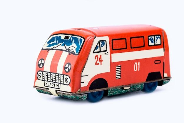 Modèle miniature de mini-fourgonnette de jouet