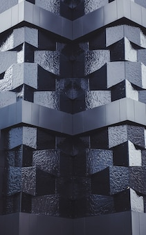 Modèle de mur architectural