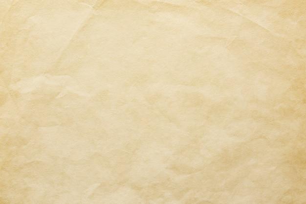 Modèle de papier craft froissé vierge