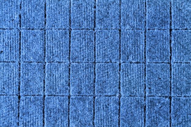 Modèle plat de blocs pour la conception ou l'arrière-plan. couleur du bleu classique de 2020 ans.