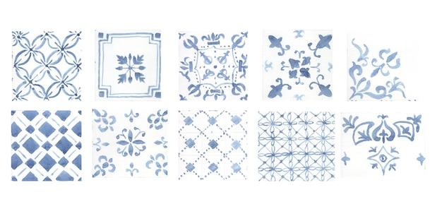 Modèle pour carreaux de céramique