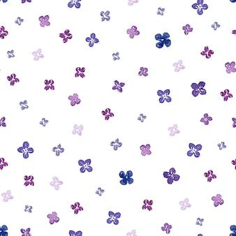 Modèle sans couture aquarelle lilas. peut être utilisé pour l'emballage, le textile, le papier peint et l'emballage