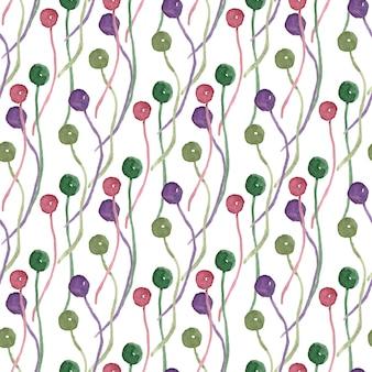 Modèle sans couture aquarelle. peut être utilisé pour le papier d'emballage, la conception de tissu