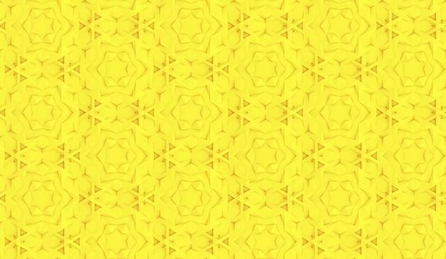 Modèle sans couture basé sur une grille hexagonale