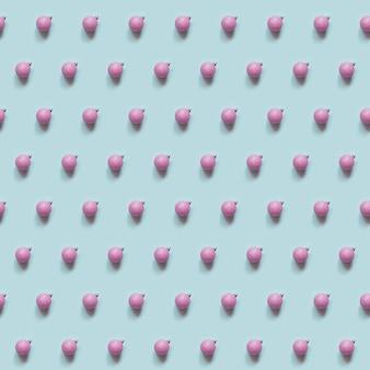 Modèle sans couture de boules de noël