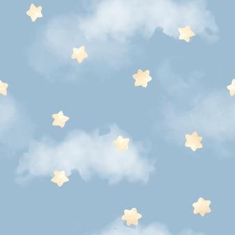 Modèle sans couture. ciel étoilé. pour l'impression numérique.