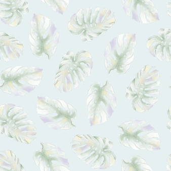 Modèle sans couture. feuilles tropicales. pour l'impression numérique.