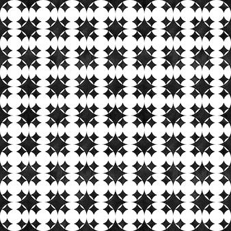 Modèle sans couture géométrique abstrait. oeuvre d'art monochrome minimaliste en noir et blanc avec des formes et des figures simples. texture en forme d'aquarelle. impression pour textile, papier peint, emballage